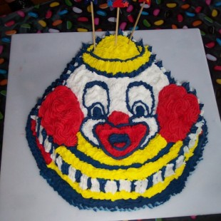 Circus Birthday Party - Cake Image