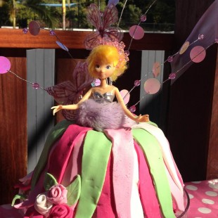 Fairy Birthday Party - Cake Image