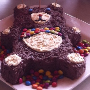 Teddy Bear Birthday Party - Cake Image