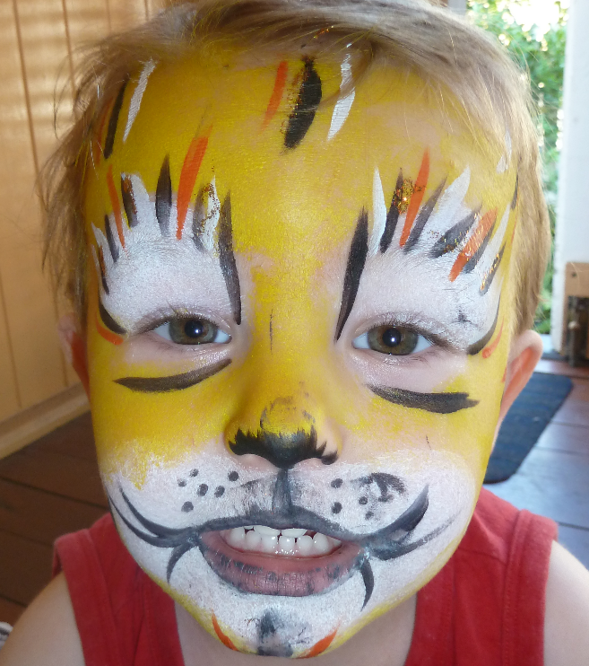 Water Based Face Paint Alergies