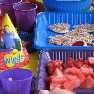 Wiggles Birthday Party - Food Image