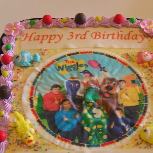 Wiggles Birthday Party - Cake Image