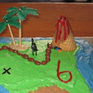 Dinosaur Birthday Party - Cake Image