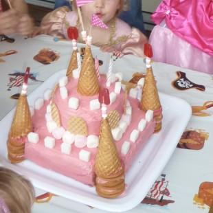 Princess - Cake Image