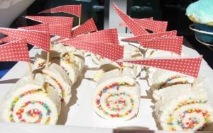 Rainbow fairy bread pinwheels (2)