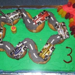 Cars - Cake Image