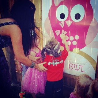 Pretty Pink Owl Party Kids Party Space