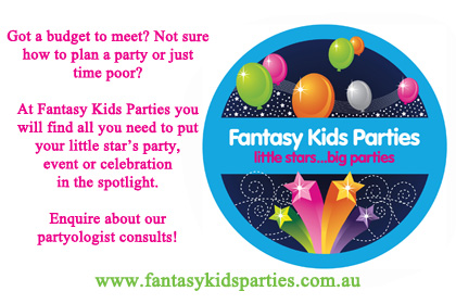 kids party space ad