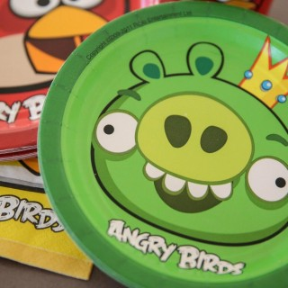 Angry Birds Birthday Party Ideas - Theme Image