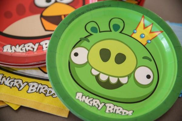 Angry Birds Birthday Party Ideas - Main Image