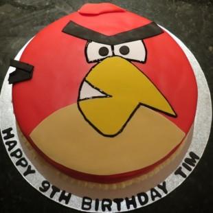Angry Birds Birthday Party Ideas - Cake Image