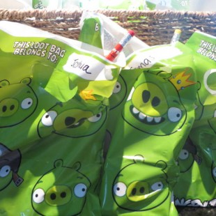Angry Birds Birthday Party Ideas - Supplies Image