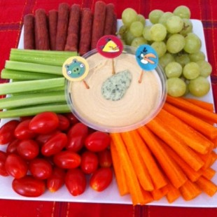 Angry Birds Birthday Party Ideas - Food Image