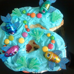 Pool Party - Cake Image