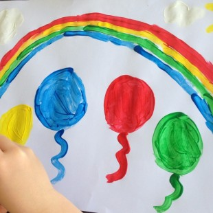Rainbow Birthday Party - Games Image