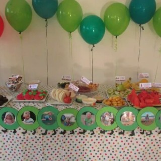 Ollie's Very Hungry Caterpillar Birthday Party - Main Image