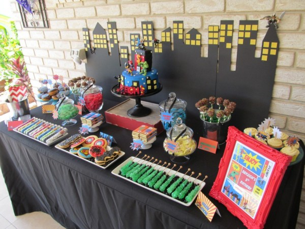 Superheroes In Training Birthday Party Kids Party Space
