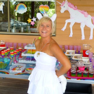 Rainbows and Unicorns Birthday Party - Main Image