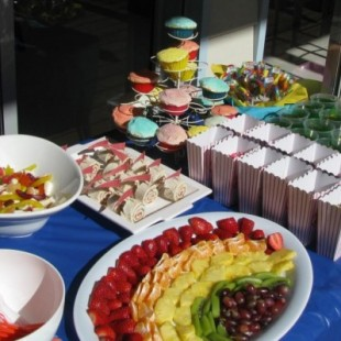 Rainbow Birthday Party - Food Image