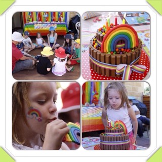 Rainbow Party Ideas - Main Image