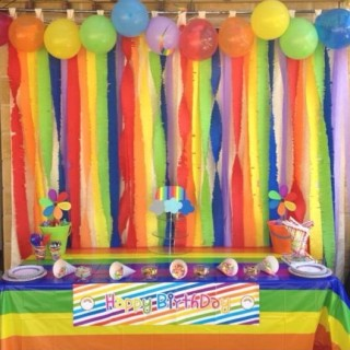 Rainbow Birthday Party - Theme Image