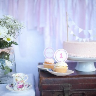 Little Girl's First Birthday - Main Image