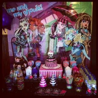 Monster High Party for Amia's 6th Birthday - Main Image