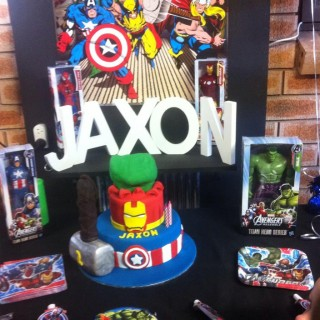 Superhero 2nd Birthday Party - Main Image