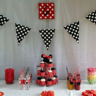 Disney Minnie and Mickey Mouse Party - Food Image