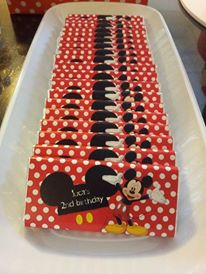 Disney Minnie and Mickey Mouse Party - Supplies Image
