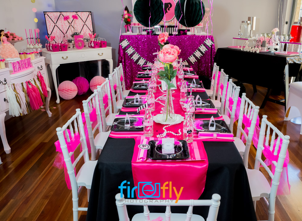Amaya S 5th Barbie Party Kids Party Space