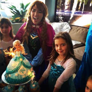 Olivia's Disney Frozen Birthday Party - Main Image