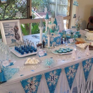 Frozen Party for Twins - Main Image