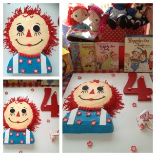Raggedy Ann & Andy 4th Birthday - Main Image