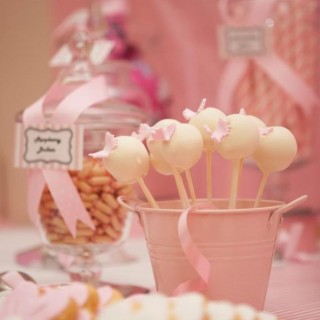 Pink 1st Birthday Party - Main Image