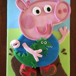 Peppa Pig  - Cake Image