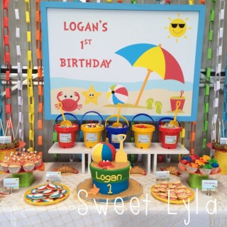First Birthday Beach Party - Main Image