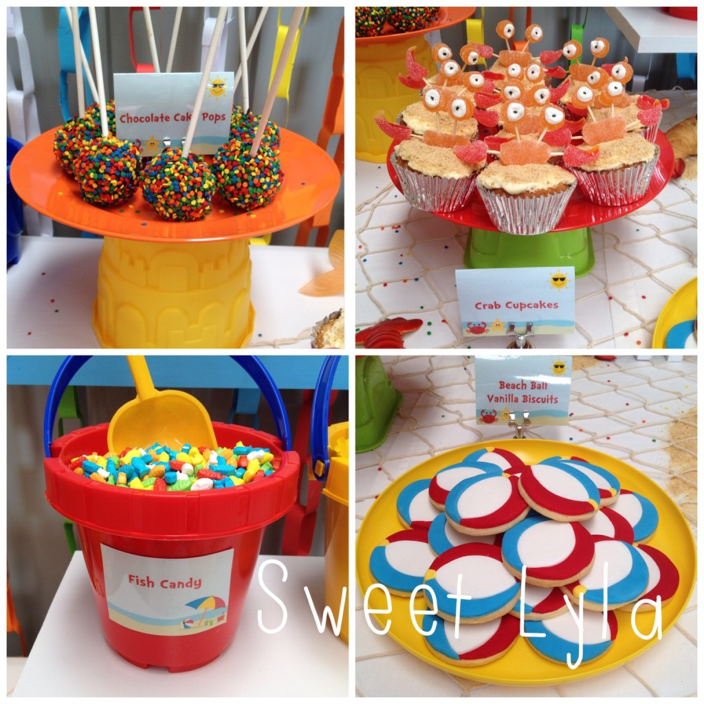1st birthday beach party ideas
