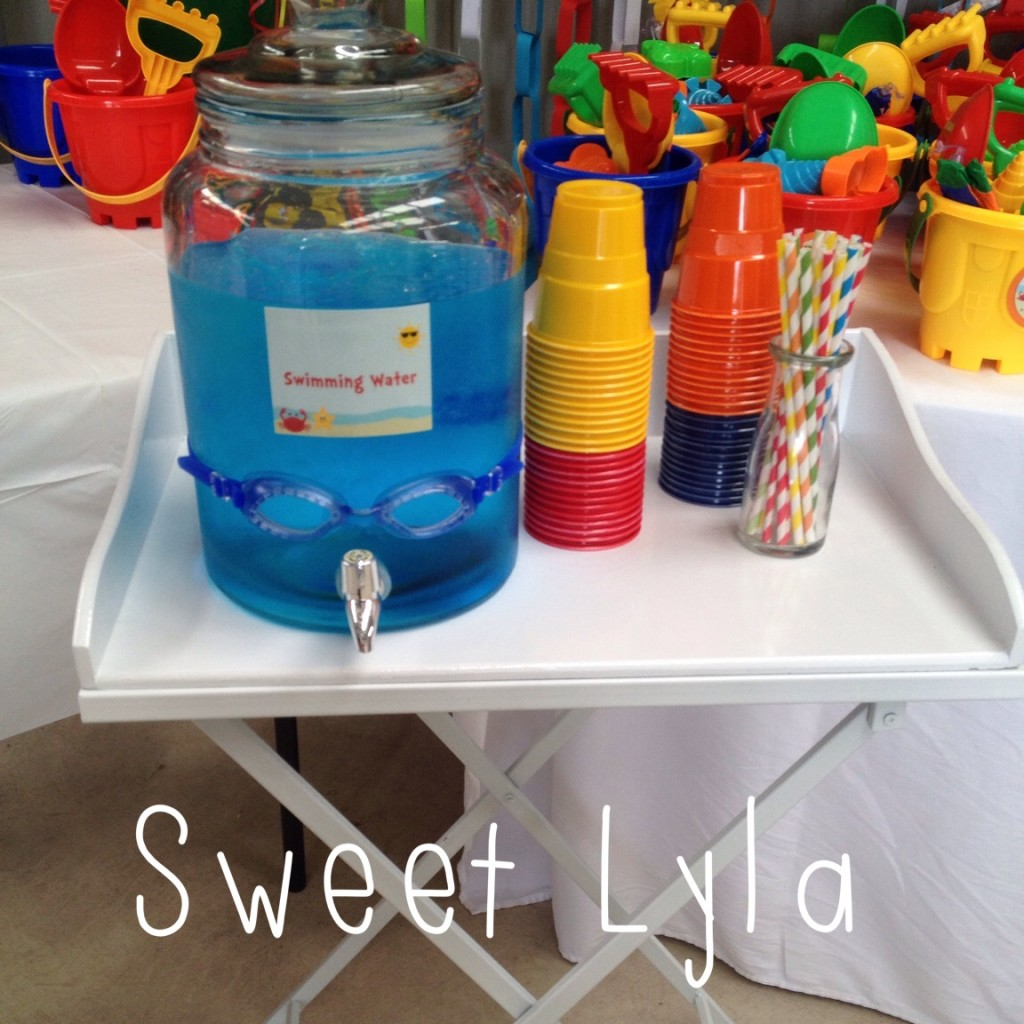 First Birthday Beach Party   Kids Party Space