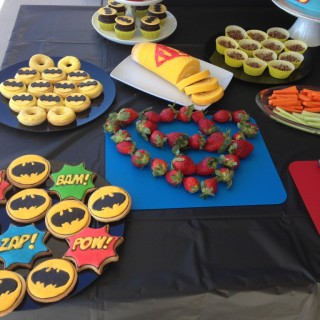 Superhero Party Kids Party Space