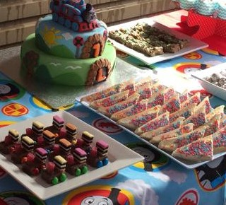 Thomas The Tank Engine 1st Birthday Party Kids Party Space