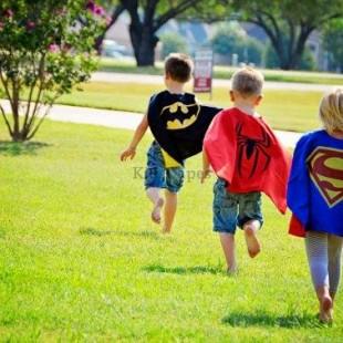 Superhero Birthday Party - Games Image