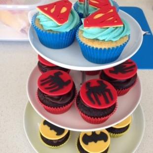Superhero Birthday Party - Food Image