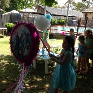 Frozen Party By The Pool Kids Party Space
