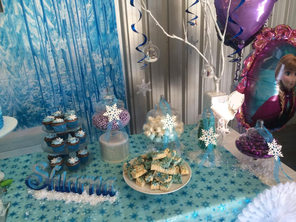 Frozen First Birthday Decorations Image Inspiration of Cake and