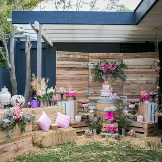 Pretty Rustic Farm Party - Main Image