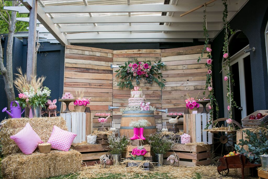 Pretty Rustic Farm Party Kids Party Space