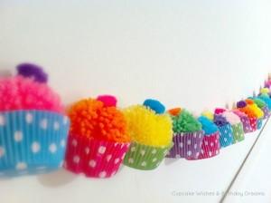 garlnad cupcake