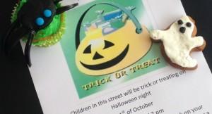 Halloween street invite