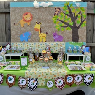 Jungle Safari Birthday Party - Main Image